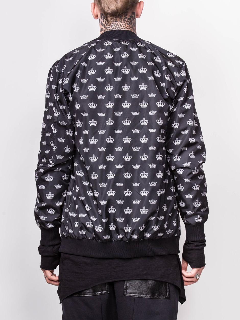 BOMBER WITH CROWNS