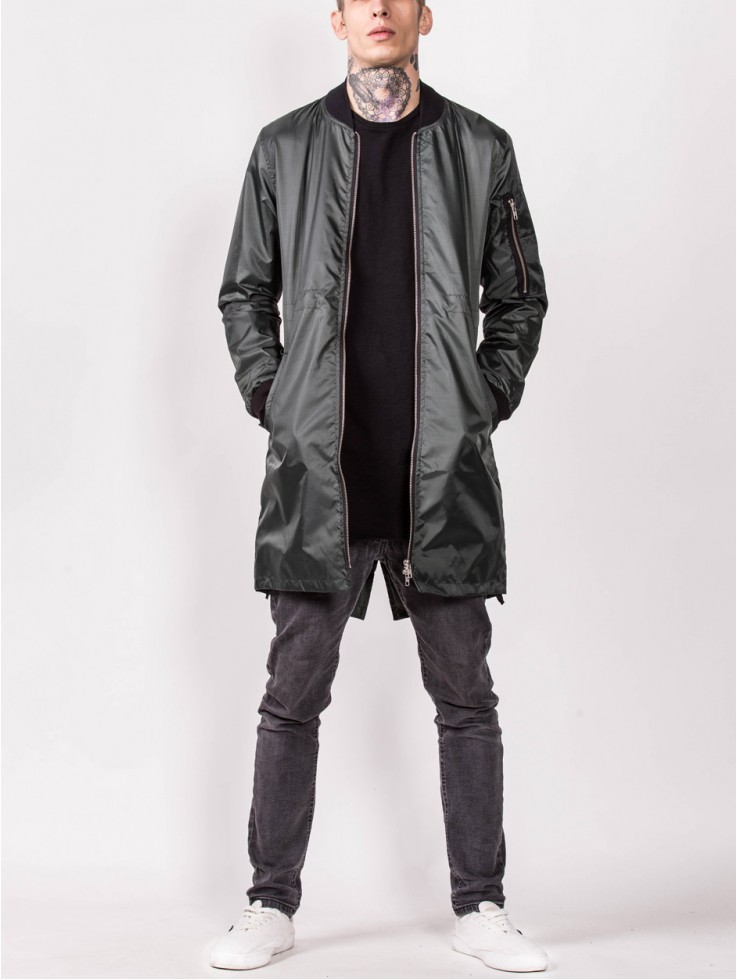 BOMBER GREEN LONG