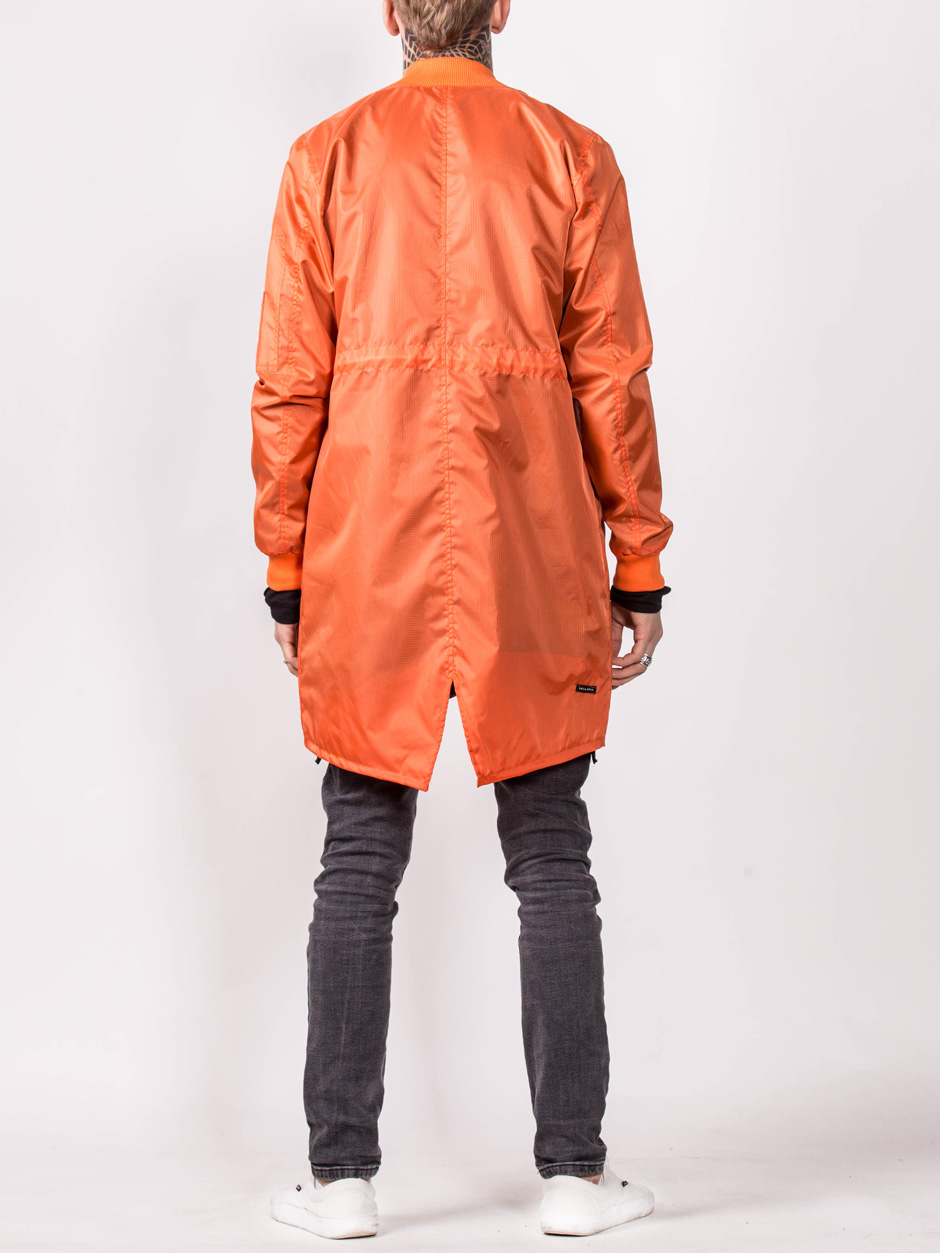 BOMBER ORANGE LONG