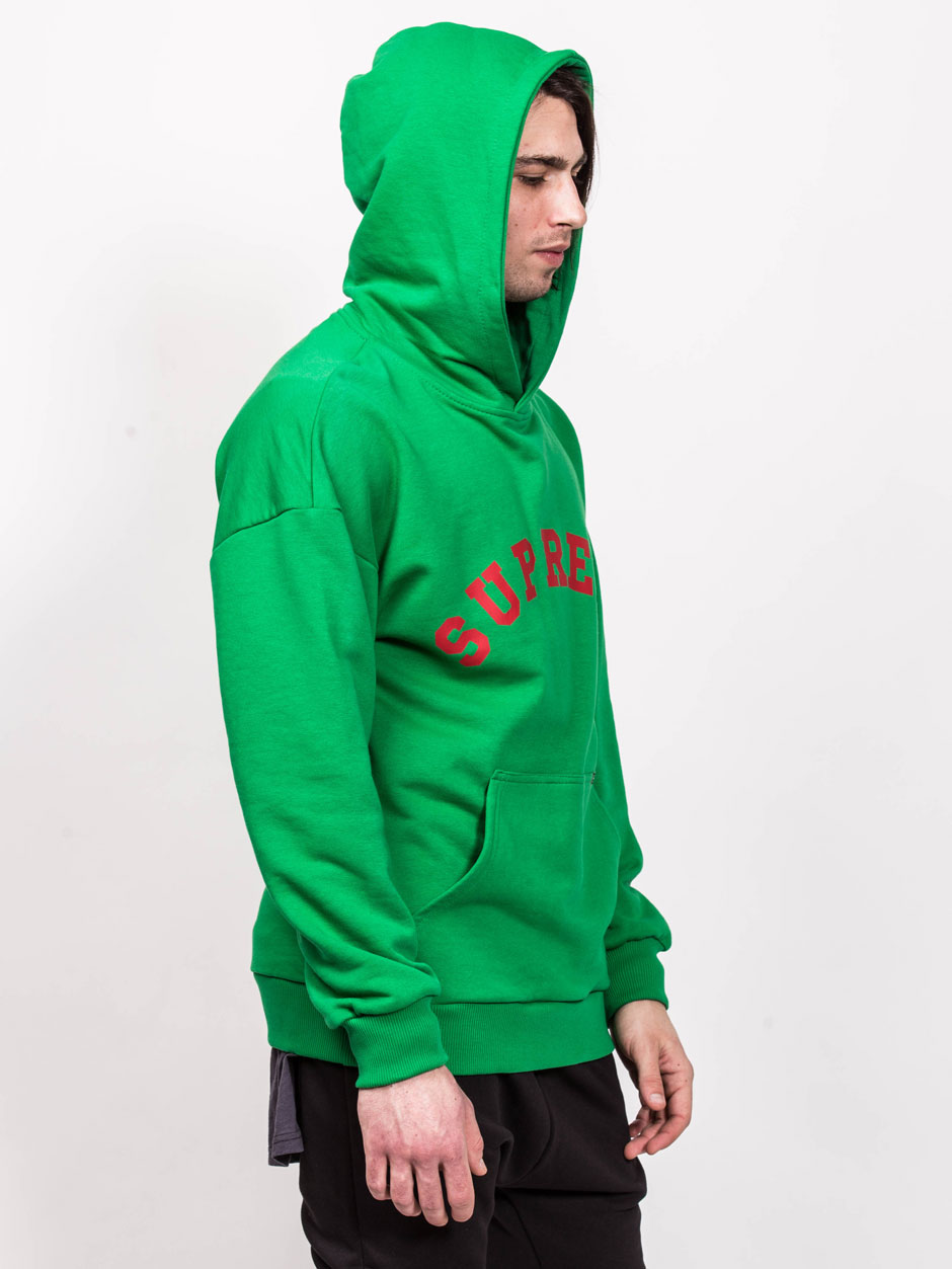 HOODIES SUPREME GREEN
