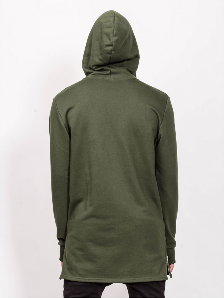 HOODIES LONG GREEN