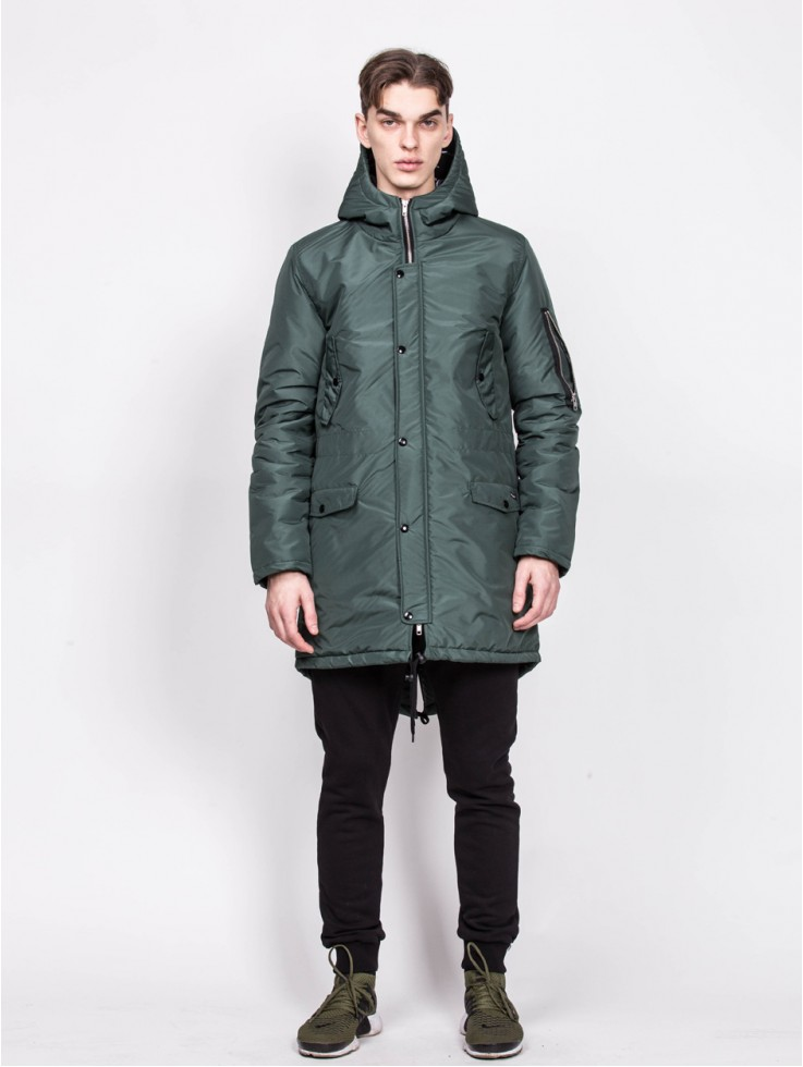 PARKA WINTER GREEN