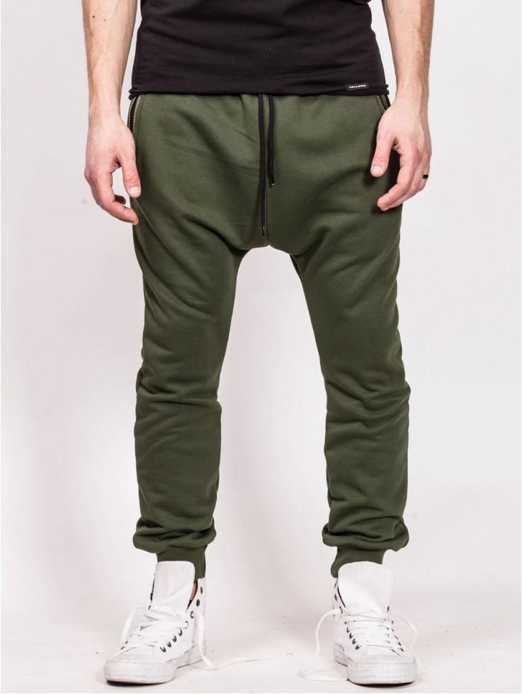 PANTS LOW GREEN