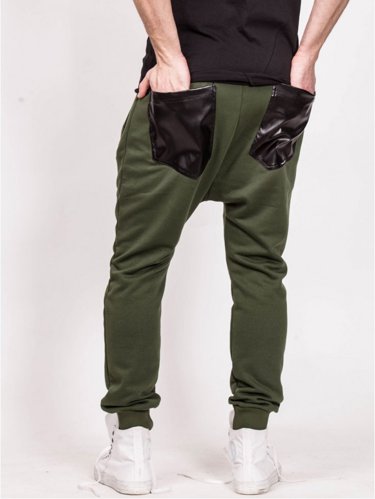 PANTS LOW GREEN