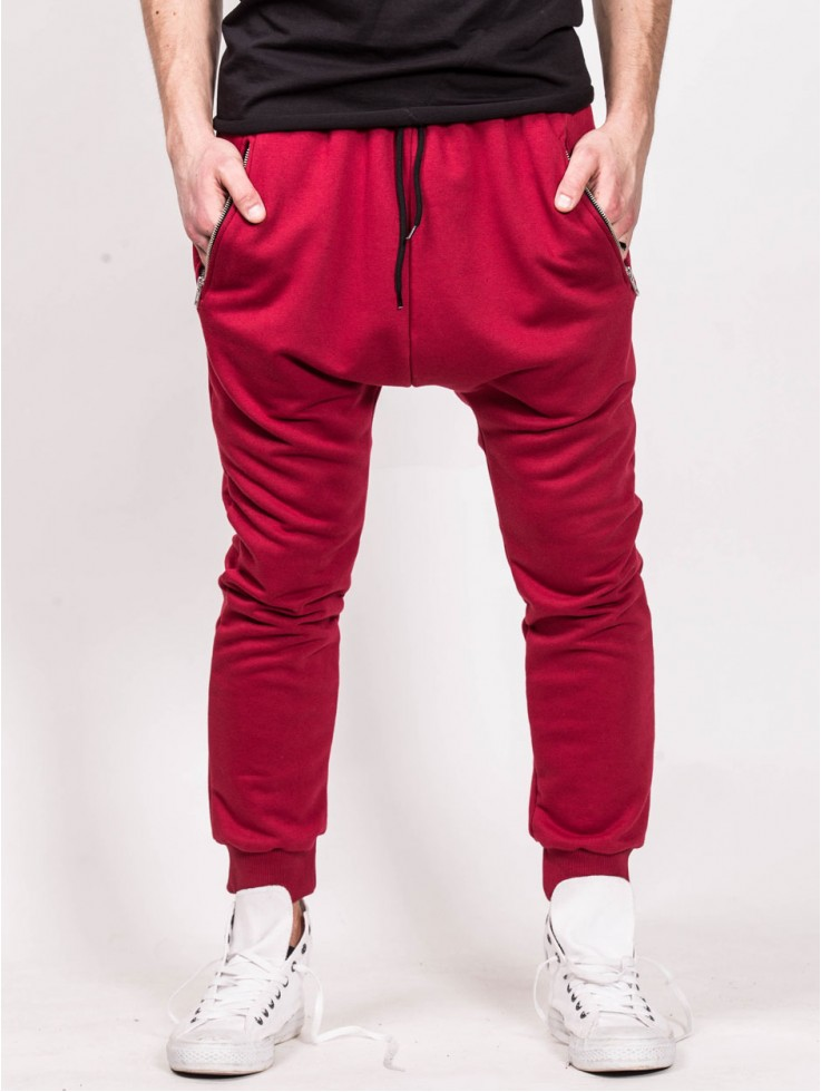 PANTS LOW RED