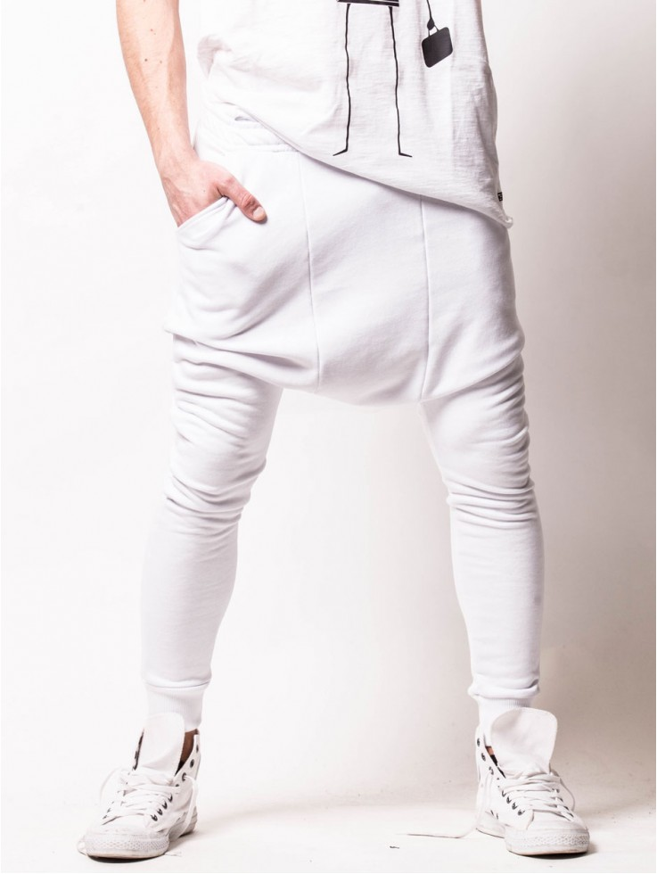 PANTS EXTRA LOW WHITE