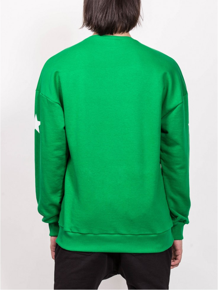 SWEATSHIRT ARTIST GREEN