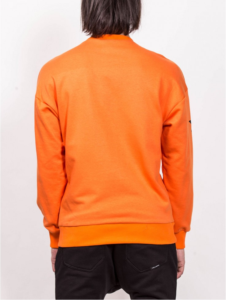SWEATSHIRT ARTIST ORANGE