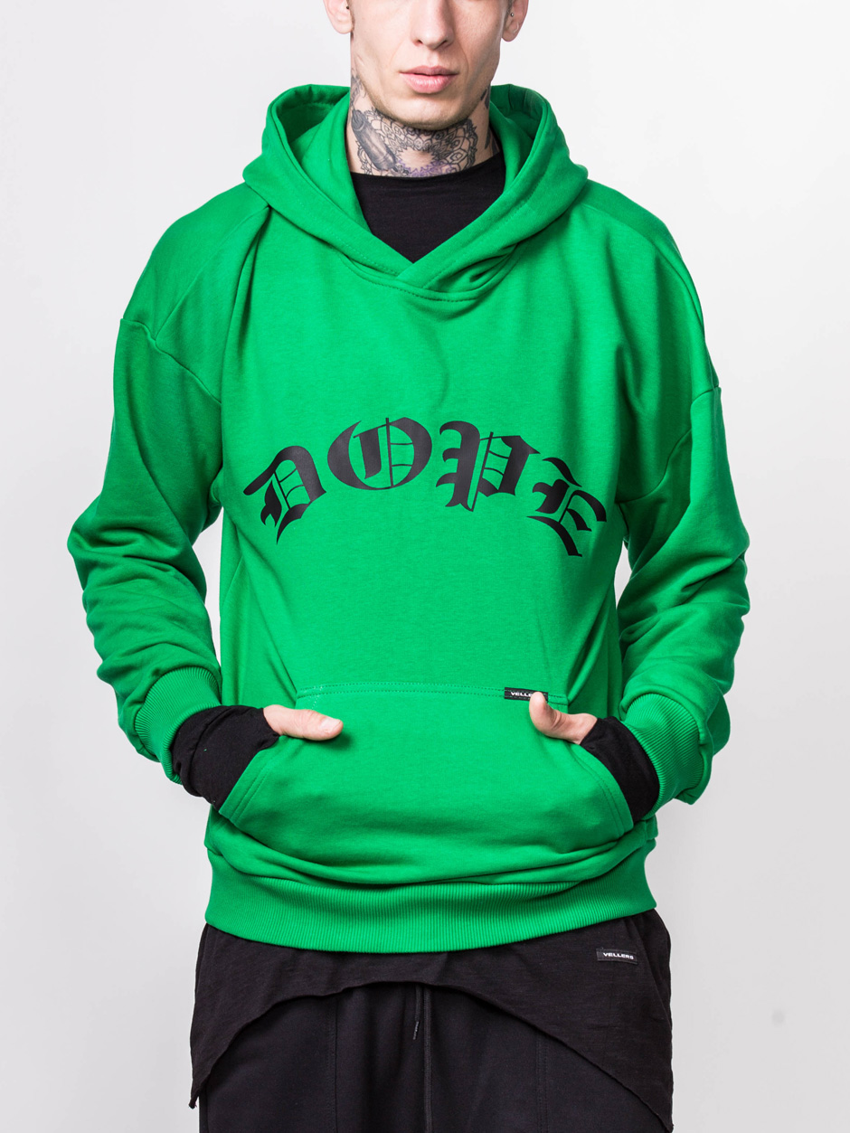 HOODIES DOPE GREEN