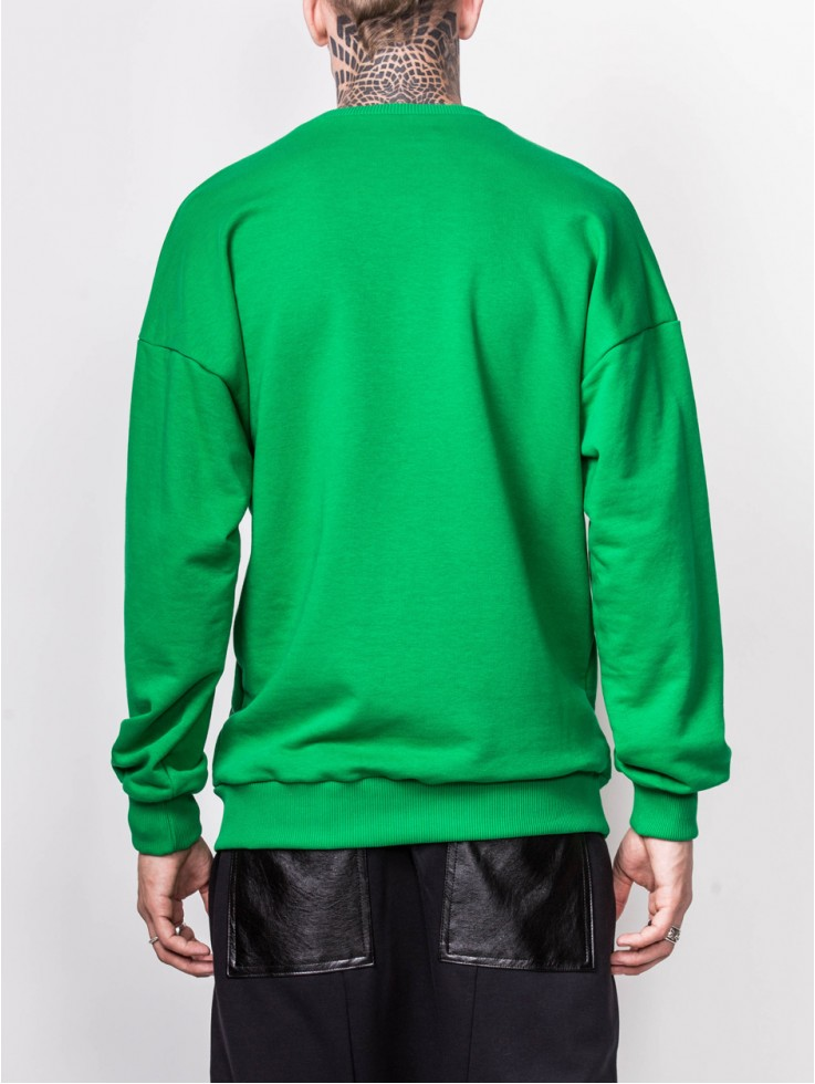 SWEATSHIRT GREEN